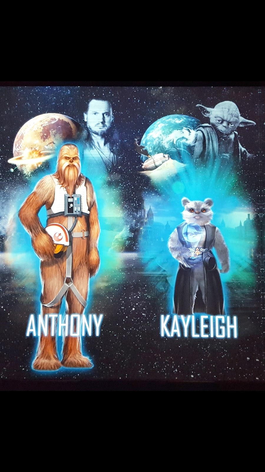 Star Wars Identities Characters