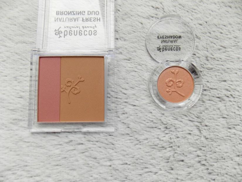 Benecos Bronzing Duo and Eyeshadow