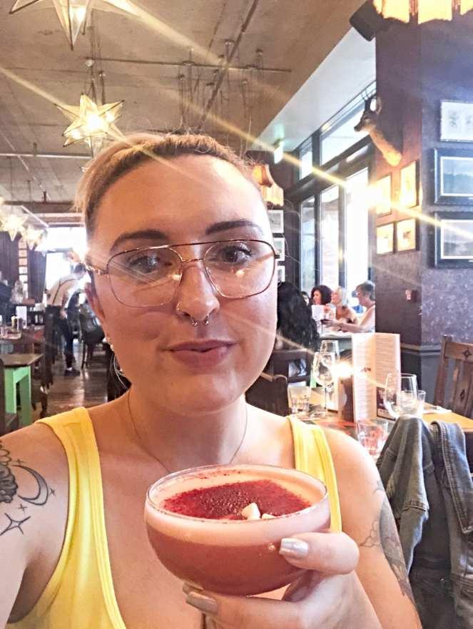 Cosy Club Eton Mess Cocktail