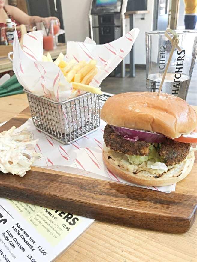 Ivy House Falafel Burger
