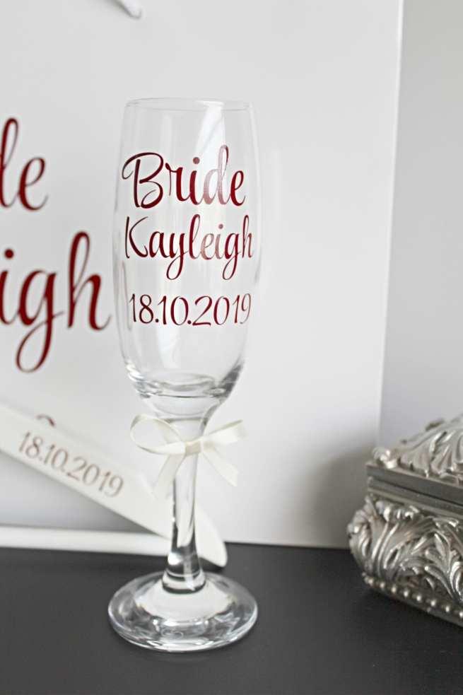 Little Wedding Treasure Glass