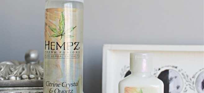 Hempz Citrine Crystal & Quartz Range