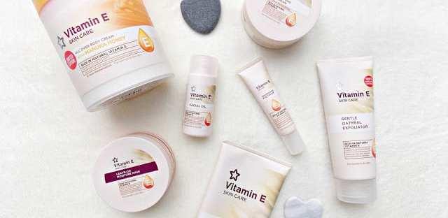 Superdrug Vitamin E Range