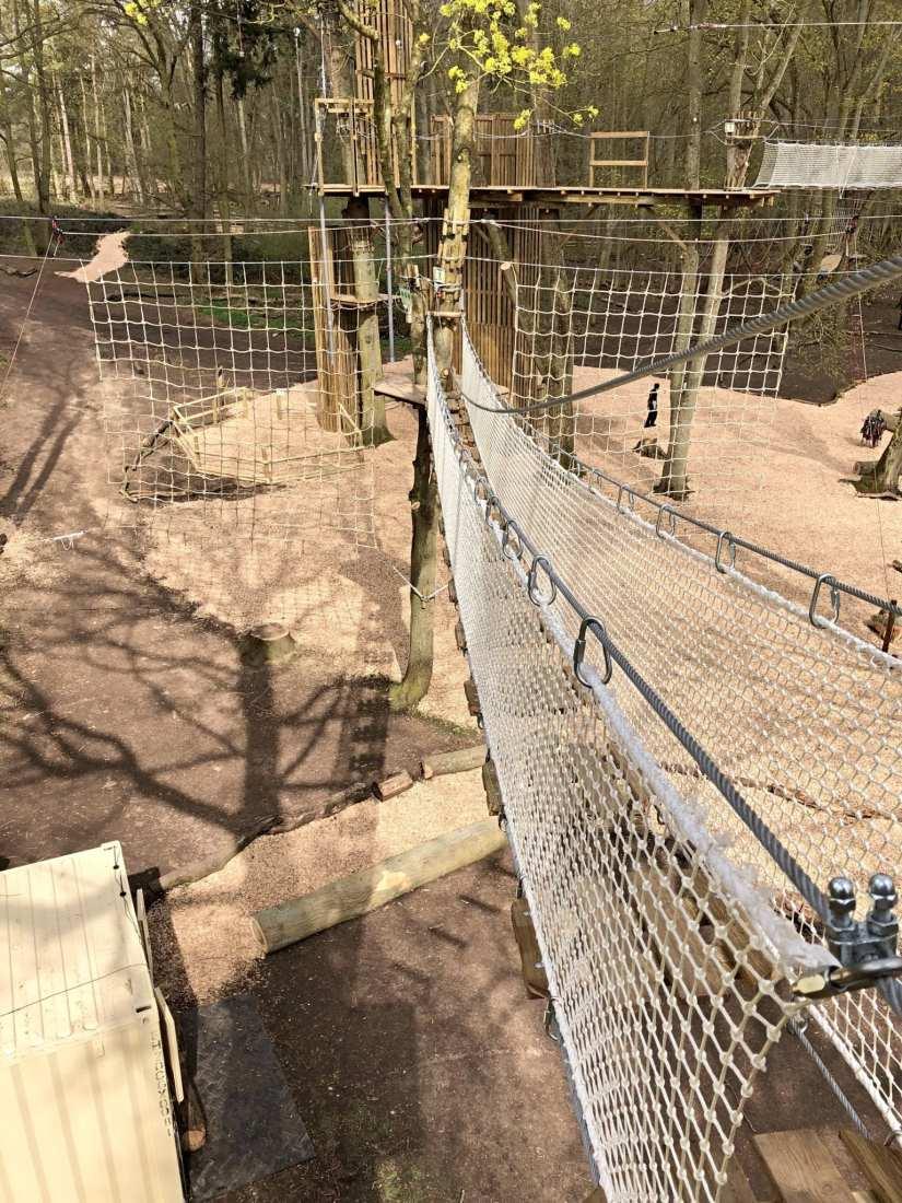 Go Ape Tarzan Swings