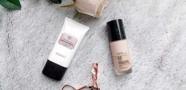 Body Shop SPF and Foundation