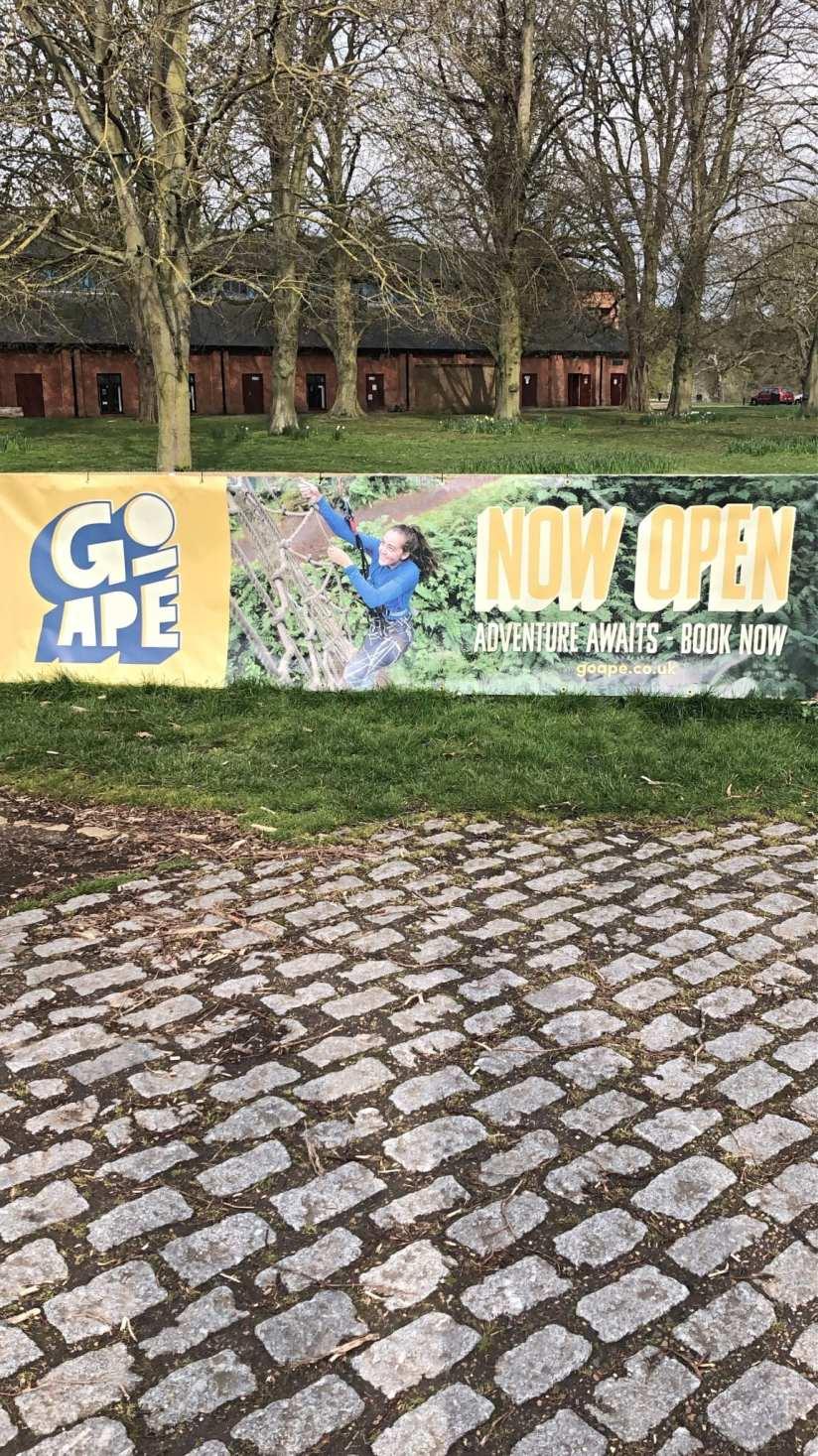Go Ape Banner