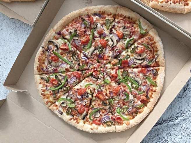 Veggie Hot Dodo Pizza