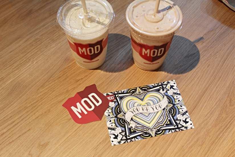 MOD Pizza Milkshakes
