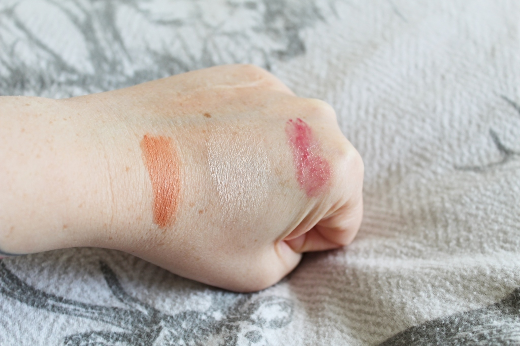 Glossier Swatches